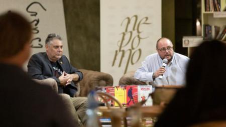 На 21 септември беше срещата с Алек Попов
