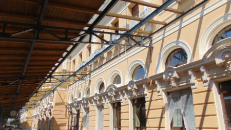 Пловдив, Централна жп гара