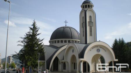 Църквата Свети Висарион Смолянски в Смолян