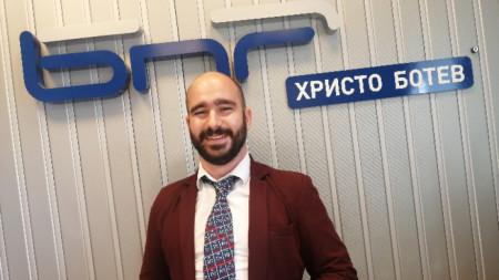 Наско Стаменов - учител по химия в НПМГ, комуникатор на науката