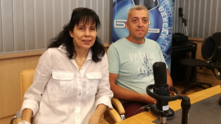 Мария Чернева и Любомир Кендеров