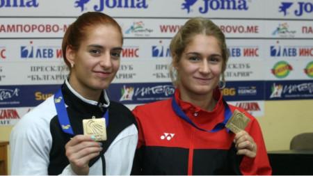 Gabriela and Stefani Stoeva
