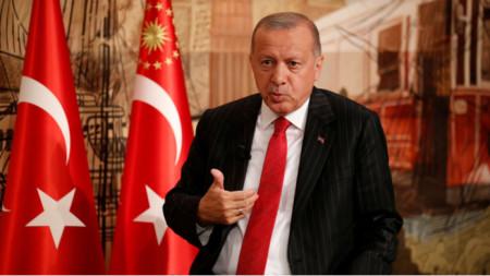 Реджеп Ердоган, президент на Турция