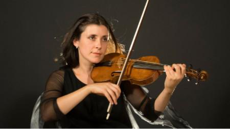 Цигуларката Зефира Вълова, основател и артистичен директор на фестивала