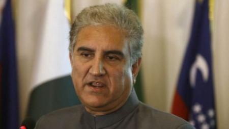 Шах Махмуд Куреши, външен министър на Пакистан