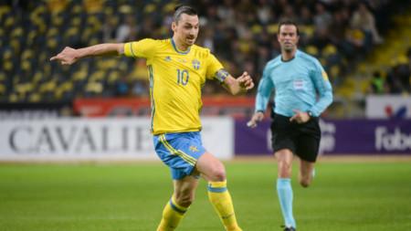 Ибрахимович се отказа от националния отбор на Швеция преди 4 години.