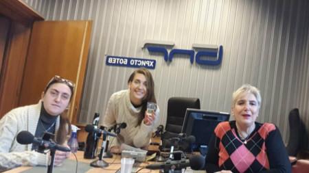 Ивана Мурджева, Калина Станева, Веселина Даковска и Иван Ботев