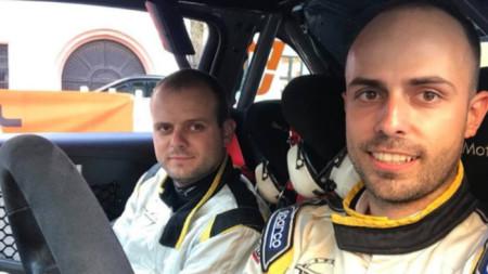 Daniell Popov (djathtas) dhe Angell Bashkehajov