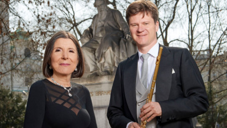 Мария Принц и Карл-Хайнц Шютц