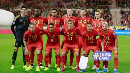 Отборът на Белгия