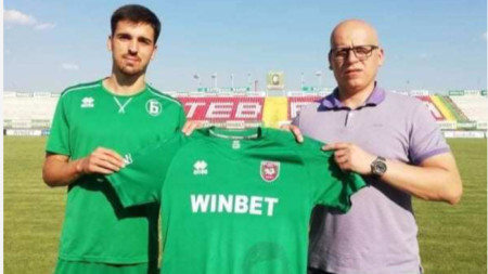 Ботев представи четирима нови футболисти.