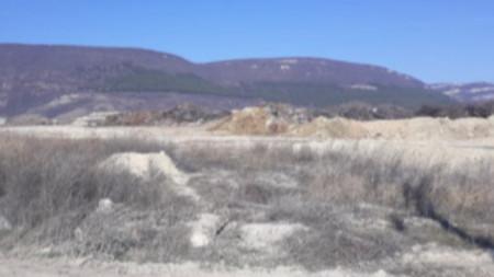Теренът за завод за боклук