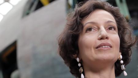 Генералният директор на Организацията на ООН за образование, наука и култура (ЮНЕСКО) Одри Азуле