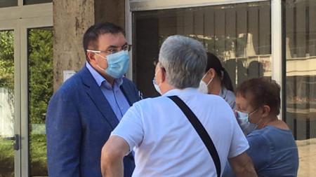 Министърът на здравеопазването проф. Костадин Ангелов е на посещение в Стара Загора