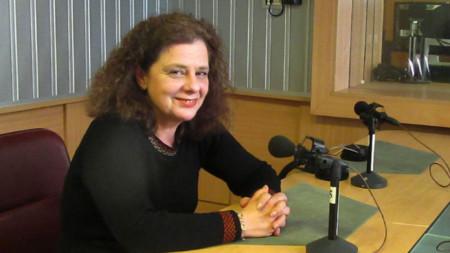 """Д-р Ана-Мария Кръстева в студиото на програма """"Христо Ботев"""""""