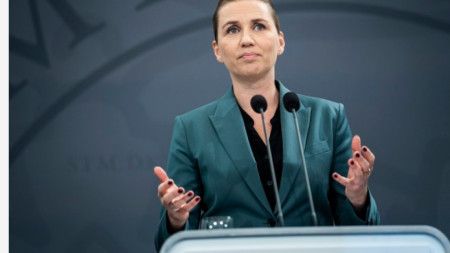 Министър-председателката на Дания Мете Фредриксен
