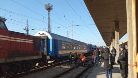 Жп инцидент в Пловдив