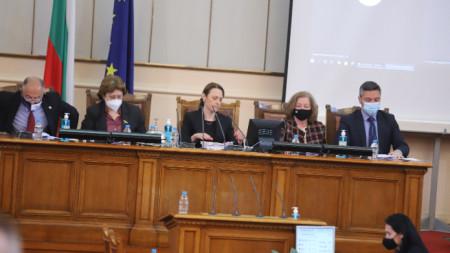 Редовно заседание на НС, 21 април 2021 г.