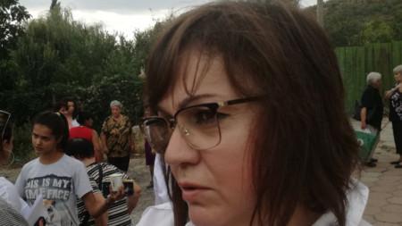 Корнелия Нинова в село Сотиря