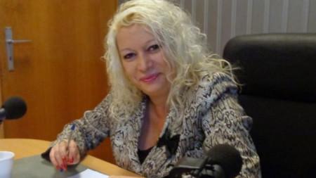 Анелия Торошанова в студиото на