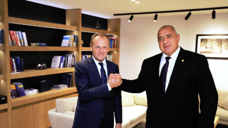 Bojko Borisov /djathtas/ dhe Donald Tusk