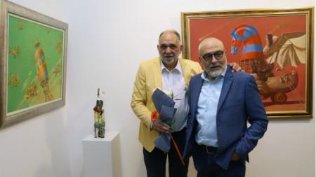 Михаил Лалов и Христо Йотов