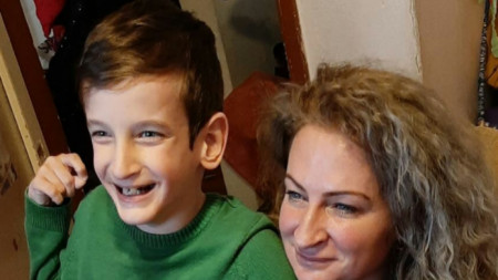 Живко и майка му Весела Георгиева