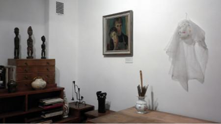 """Анна Бояджиева, изложба """"В дома на Вера Недкова"""", продължава до 5 май 2019"""