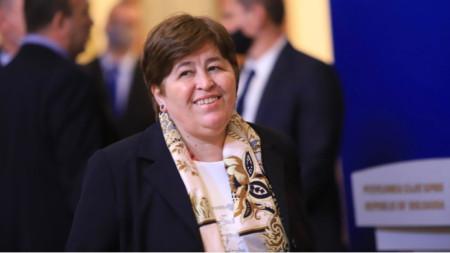 Tourismusministerin Stella Baltowa