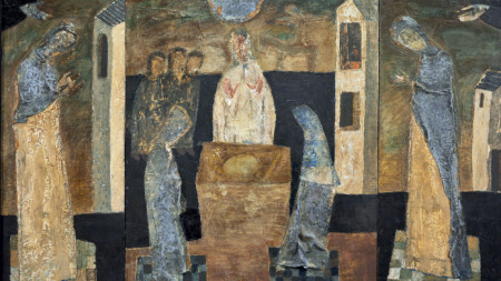 Хлябът (триптих) от Свилен Блажев