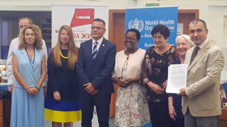 Представители на СЗО, УНИЦЕФ, на пациентски и граждански организации подписаха в София Меморандум срещу рекламата, промоцията и спонсорството на тютюневата индустрия.