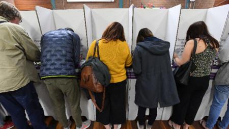 В Австралия гласуването е задължително.
