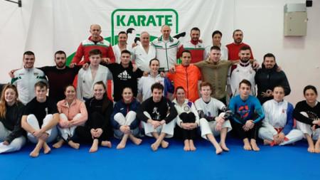 Лагер на националният отбор по олимпийско  карате