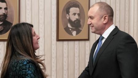 Румен Радев с Херо Мустафа