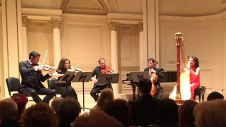 Откриване на Българските концертни вечери в Ню Йорк 2018