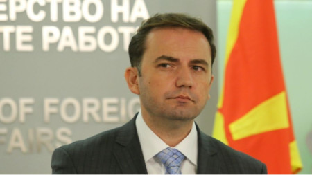 Foreign Minister of North Macedonia Bujar Osmani