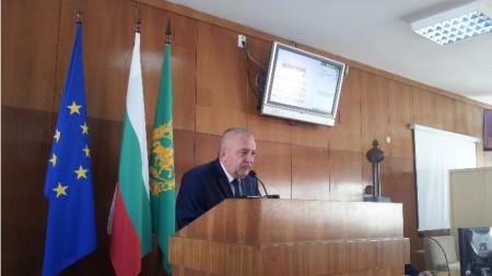 Красимир Минчев - председател на Общинския съвет в шумен