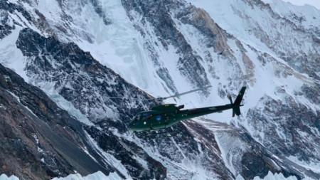 Пакистански хеликоптер