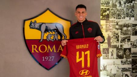 Ибанес ще играе с №41 в Рома.