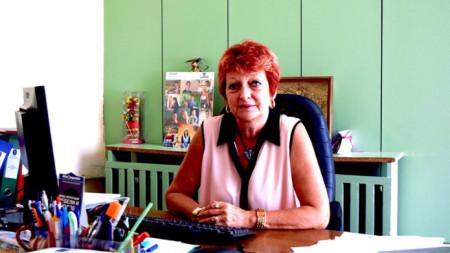 Замeстник-кметът по хуманитарните дейности на Община Добрич д-р Емилия Баева