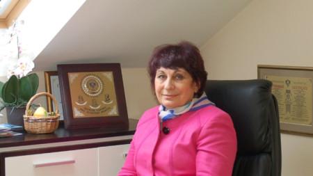 Проф. Вихра Миланова, началник на Клиниката по психиатрия в Александровска болница