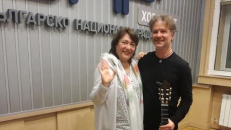 Милена Караджова и Асен Маринов
