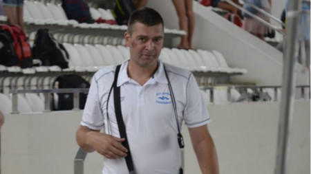 Селекционерът Кристиян Минковски.