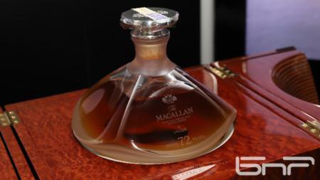 72-годишно уиски на The Macallan за 120 000 лева е от най-скъпите, продавани някога у нас