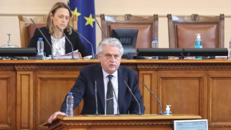 Innenminister Bojko Raschkow