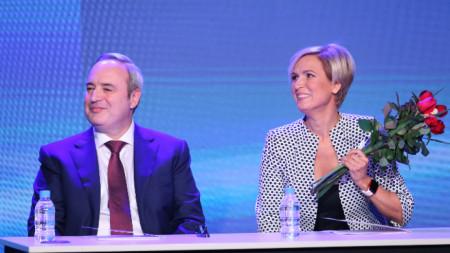 Prof. Anastas Gerxhikov dhe Nevjana Miteva
