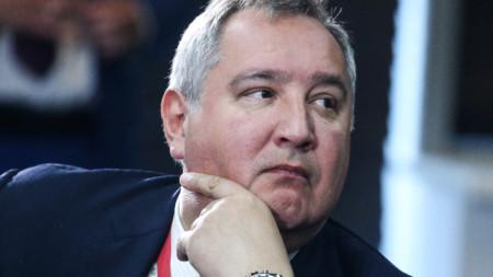 """Шефът на """"Роскосмос"""" Дмитрий Рогозин"""