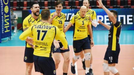 Хебър без проблеми срещу ЦСКА на волейбол