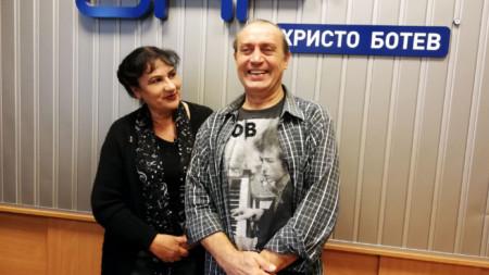 Роза Николова и доц. Мирослав Цветанов