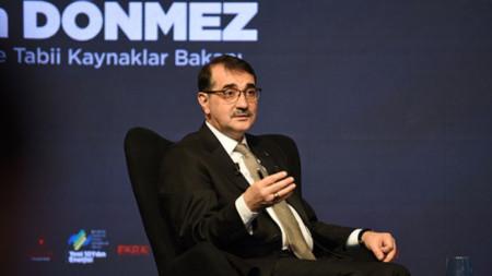 Турският министър на енергетиката Фатих Дьонмез